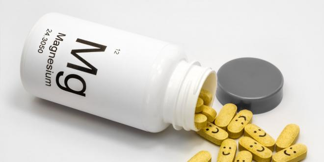 Magnesium supplements spilling