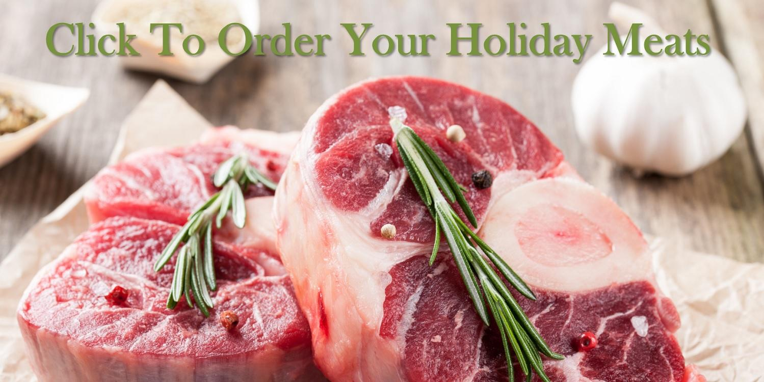order your holiday meats