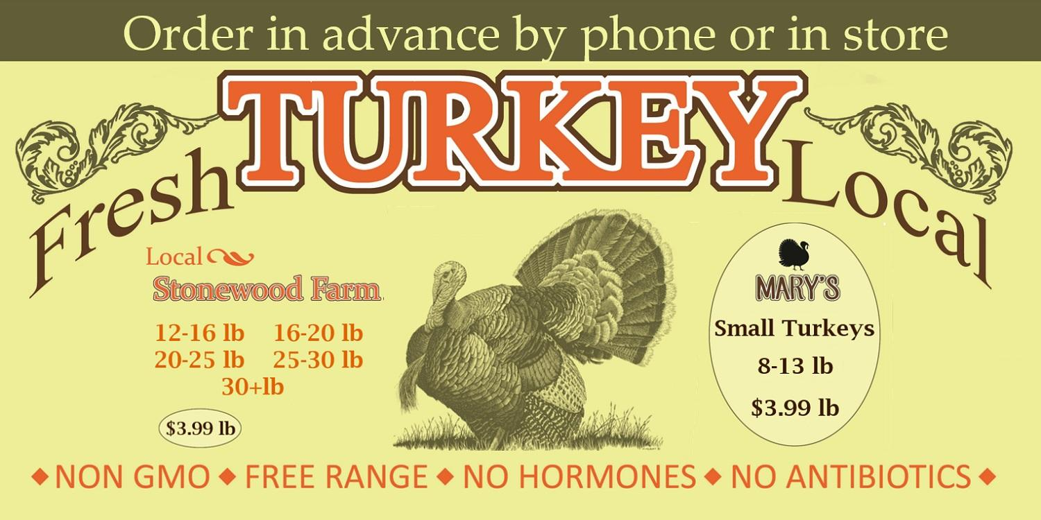 order your turkey now